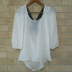 My Story Sheer Blouse